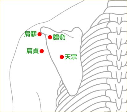 五十肩の治療ポイント②