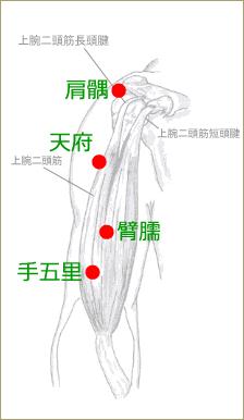 五十肩の治療ポイント③